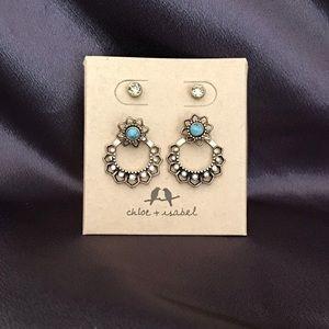 Chloe+Isabel Golden Lotus Convertible Earrings